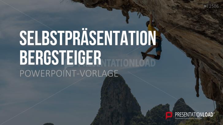 Selbstpräsentation - Bergsteiger