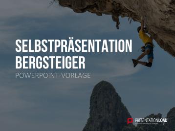 Selbstpräsentation - Bergsteiger _https://www.presentationload.de/selbstpraesentation-bergsteiger.html