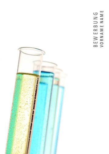 Bewerbungsvorlagen für Chemieberufe