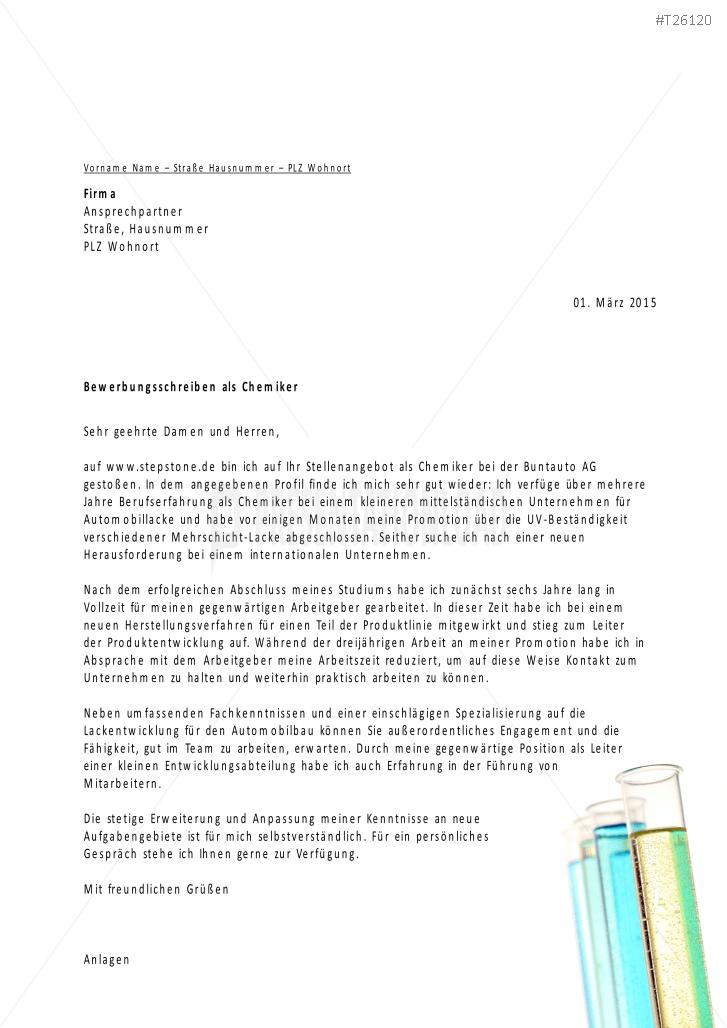 PresentationLoad | Bewerbungsvorlagen für Chemieberufe