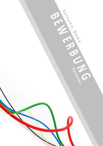 Bewerbungsvorlagen für Elektroberufe