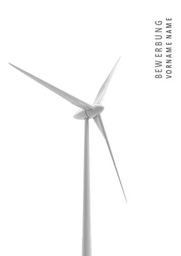 Bewerbungsvorlagen für Energieberufe