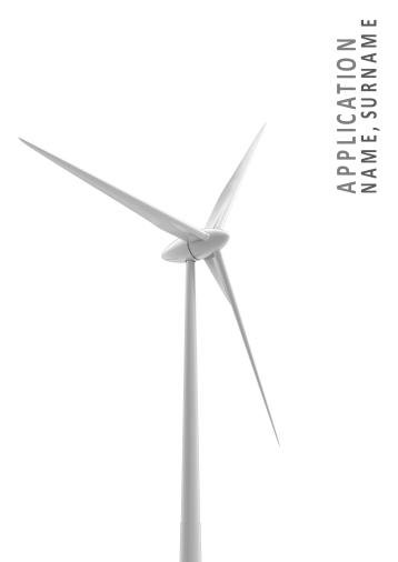 Energy Job Application Template