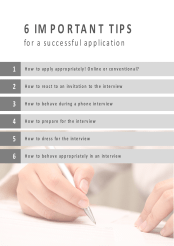 job application powerpoint template for hotel management