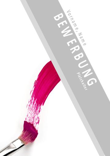 Bewerbungsvorlagen für Malerberufe