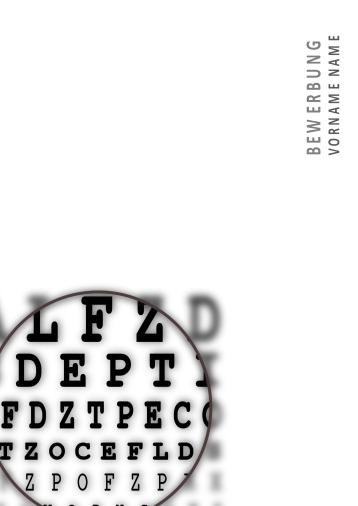 Bewerbungsvorlagen für Optikerberufe