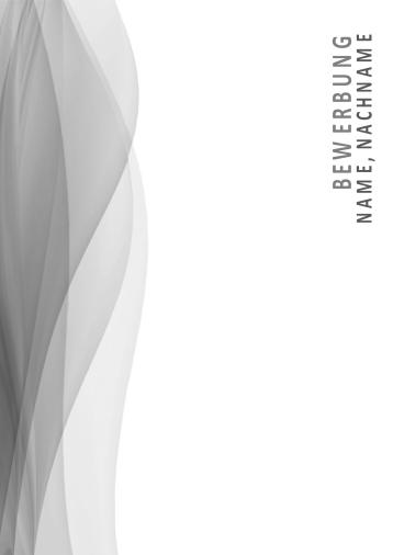 Bewerbungsvorlagen Neutral-1 Design