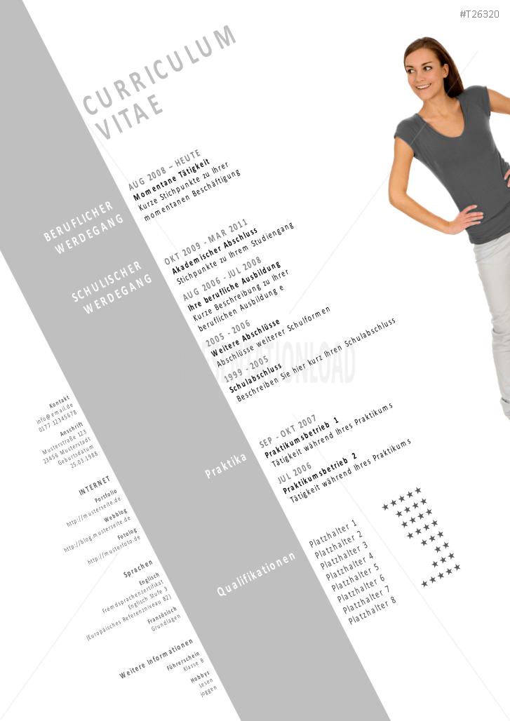 PresentationLoad | Bewerbungsvorlagen Neutral-3 Design