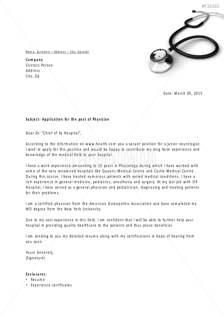Job application powerpoint template for medical jobs yadclub Choice Image