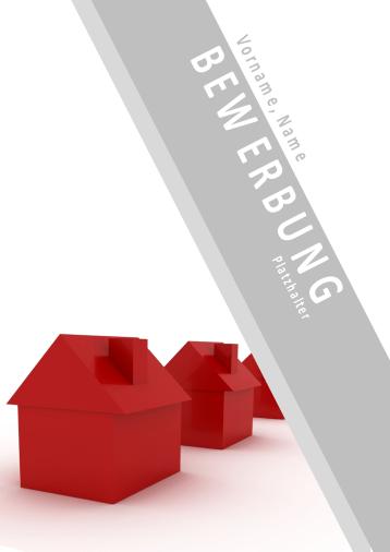 Bewerbungsvorlagen für Immobilienberufe