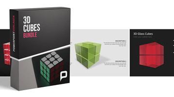 3D Würfel Bundle _https://www.presentationload.de/wuerfel-bundle-3d.html