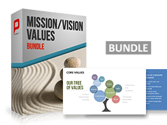 Paquete visión, misión, valores _https://www.presentationload.es/vision-mission-value-bundle-1.html