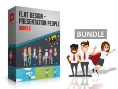 Flat Design – Presentation People Bundle _https://www.presentationload.de/flat-design-presentation-people-bundle-powerpoint-vorlage.html