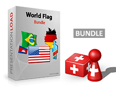 Welt - Flaggen Bundle _https://www.presentationload.de/flaggen-welt-flaggen-bundle.html