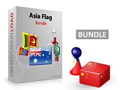 Asia & Pacific - Flag Bundle _https://www.presentationload.com/flag-asia-pacific-flag-bundle.html