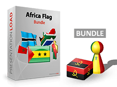 Afrika - Flaggen Bundle _https://www.presentationload.de/flaggen-afrika-bundle.html