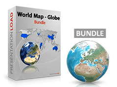 World Map - Globe Bundle _https://www.presentationload.com/world-map-globe-bundle.html
