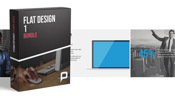 Flat Design - Offre groupée 1 _https://www.presentationload.fr/bundle-flat-design-powerpoint-templates-fr-1.html