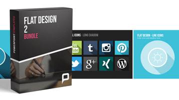 Flat Design - Offre groupée 2 _https://www.presentationload.fr/fr/flat-design-template/Flat-Design-Offre-group-e-2.html