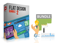 Flat Design - Offre groupée 2 _https://www.presentationload.fr/fr/flat-design-template/Flat-Design-Offre-group-e-2.html